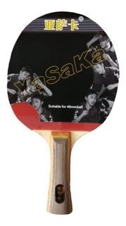 Raqueta Cuatro Estrellas Ping-pong + Estuche Funda