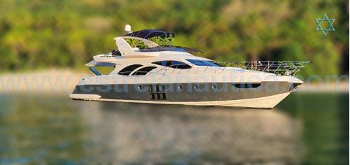 Lancha Intermarine 760 Full Barco Iate N Ferretti Sunseeker