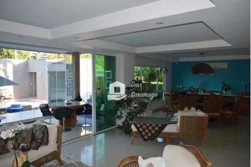 Casa À Venda, 382 M² Por R$ 4.800.000,00 - Camboinhas - Niterói/rj - Ca0023