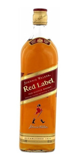 Whisky Escocés Johnnie Walker Rojo (litro) 100 % Original