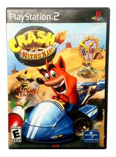 Crash Bandicoot Nitro Kart Ps2