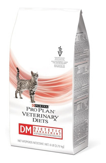 Proplan Veterinary Gatos Dm Diabetes 2.72kg Envio Gratis