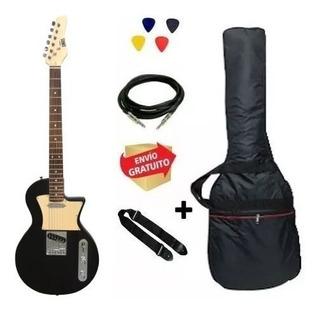 Set Guitarra Eléctrica Cuerpo Les Paul Onas Frizz + Envio