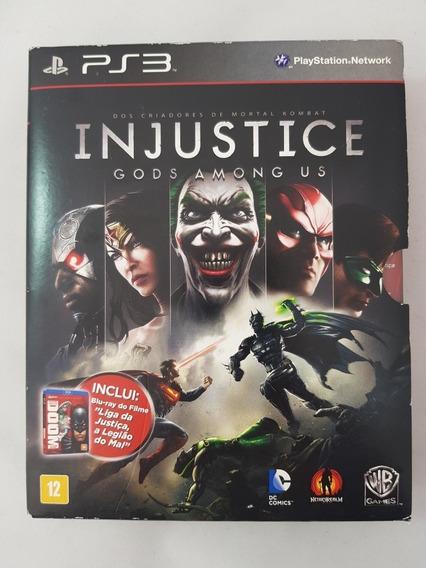 Injustice Gods Amoung Us Português + Liga Da Justiça Doom Ps
