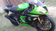Kawasaki Ninja Zxr6 636 Color Verde Manzana