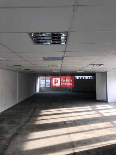 Salão Para Alugar, 400 M²  Santo Amaro - São Paulo/sp - Sl0108