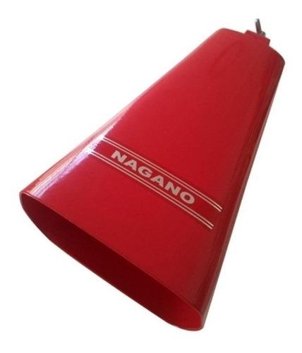 Cowbell Nagano Red Bell Medium Tamanho Médio 7 Pol Csu-0001