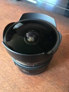 Canon 15 Mm Fisheye 2.8 Af Montura Ef