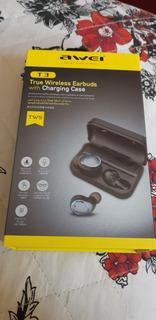 Fone De Ouvido Sport Bluetooth Intra Auricular Awei Tsw T3