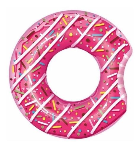 Imagen 1 de 6 de Salvavidas Inflable Pileta Dona Donut Ring Bestway 36118 Aro