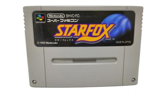 Cartucho Star Fox Original Japonês Snes Super Nintendo
