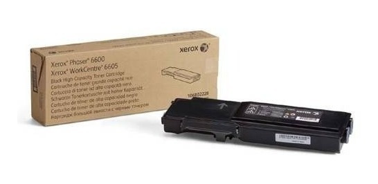 Toner Xerox 6605 Workcenter 6600 Phaser Black 106r02236