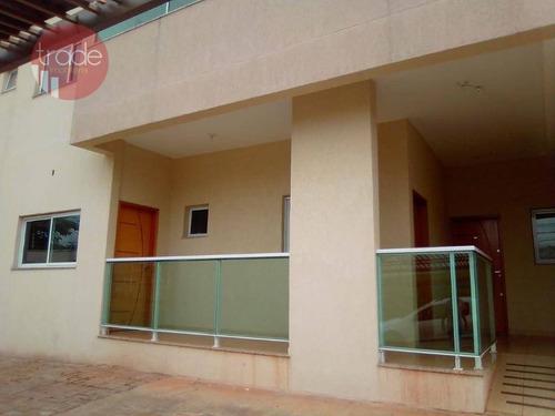 Imagem 1 de 12 de Apartamento Para Alugar, 65 M² Por R$ 1.200,00/mês - City Ribeirão - Ribeirão Preto/sp - Ap5447