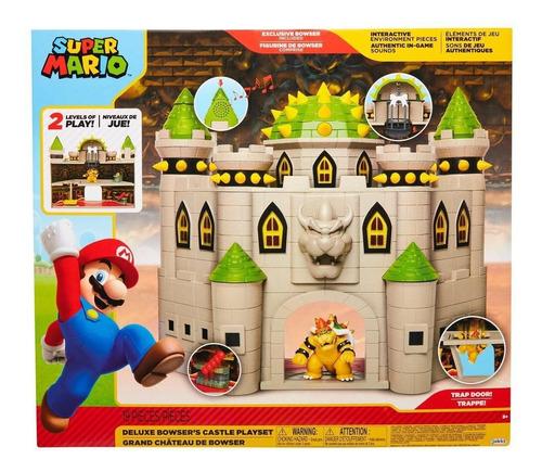 Imagen 1 de 3 de Super Mario - Castillo Deluxe De Bowser - Incluye Sonido