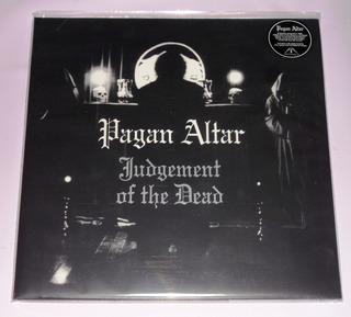 Pagan Altar Judgement Of The Dead Lp Black Vinyl + Book