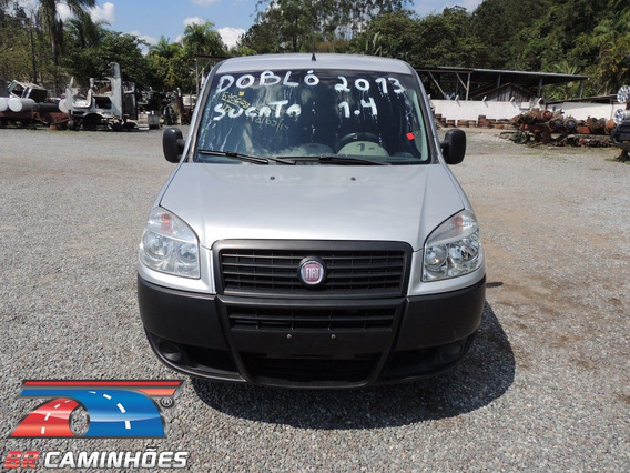 Sucata Fiat Doblo Cargo 1.4 2013/2013 Para Venda De Peças