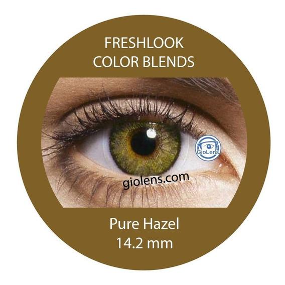 Pupilentes Freshlook Color Blends Tricolor Pure Hazel