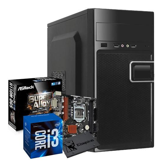 Pc Gamer Core I3 + Ssd 120gb Completo