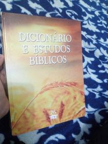 Dicionário E Estudos Bíblicos