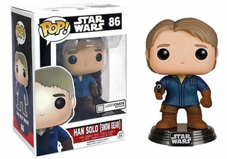 Funko Pop 86 Han Solo Star Wars Lootcrate!!!