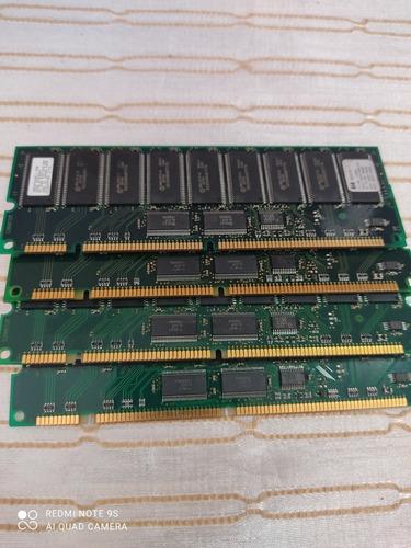 Imagem 1 de 2 de Memoria Ram 512 Mb Para Antiga, D8267-60000 4 Unid