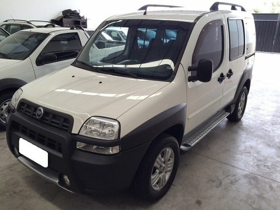 Fiat Doblò 1.8 Adventure Branca Mpi 8v Flex 4p Manual 2007