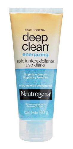 Imagem 1 de 3 de Esfoliante Neutrogena Deep Clean Energizing 100g