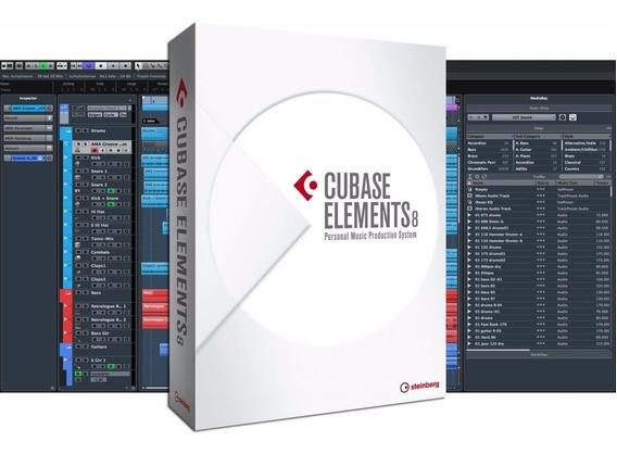 Cubase Elements 8 Full Completo Win/mac 32/64bits