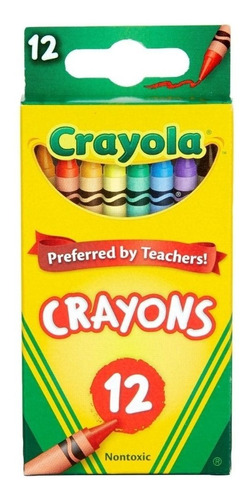 Crayola: Caja X 12 Crayones Tienda Oficial