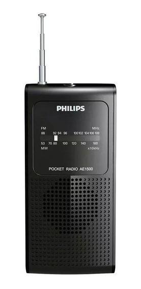 Rádio Portátil Philips, Fm / Mw - Ae1500x/78..
