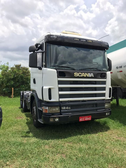 Scania R124 420 - 2002 - 6x4 - Financiamento Proprio