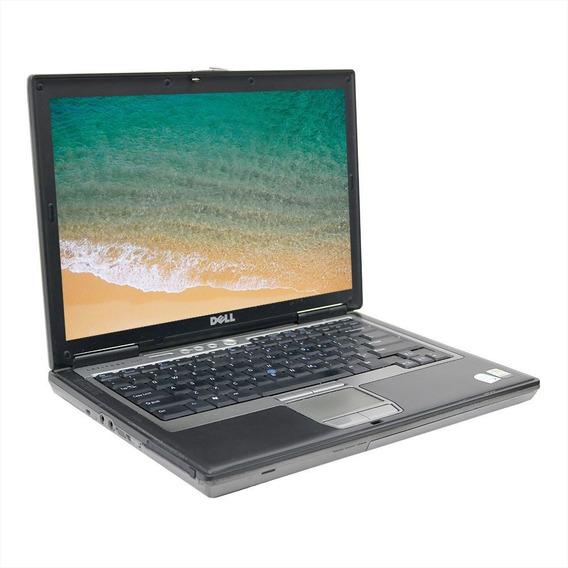 Notebook Dell D620 Latitude Core2duo 4gb 250gb - Usado