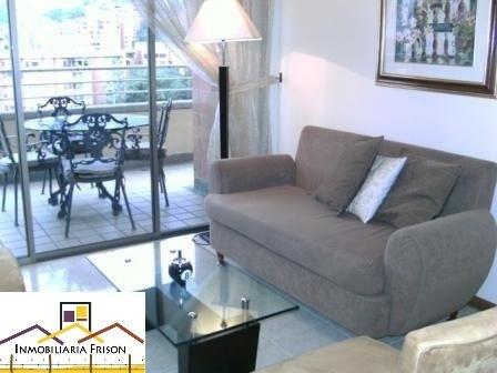 Renta Apartamento Amoblado En Poblado Vizcaya