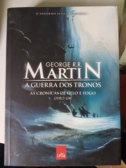 A Guerra Dos Tronos - As Crônicas De Gelo E Fogo - Livro Um