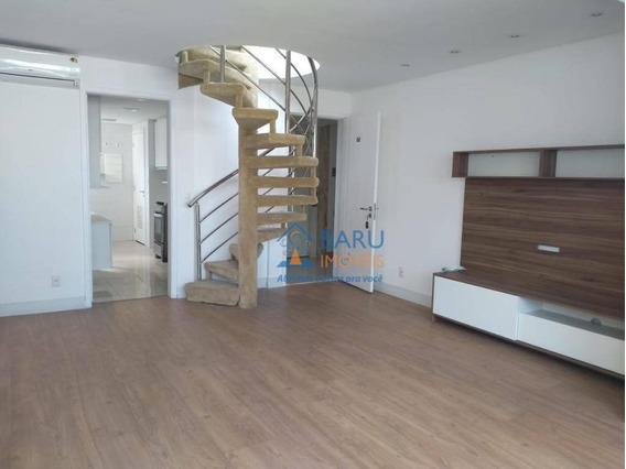 Cobertura Na Rua Conselheiro Brotero Para Alugar, 3 Dormitórios Sendo 1 Suite, 2 Vagas, No 2º Piso Ótima Área Externa Com Visão Panorâmica - Co2422