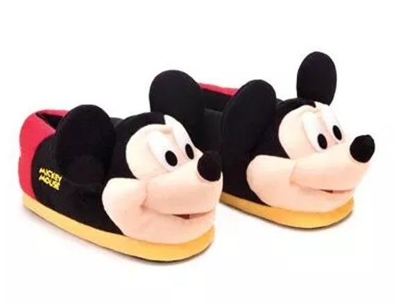 Pantufa 3d Mickey Mouse 37/39 - Ricsen