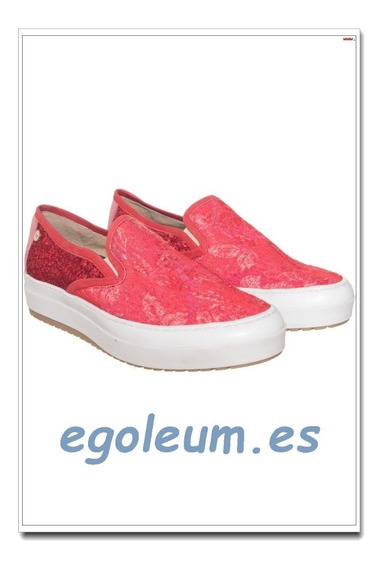 Zapatillas Panchas Joaquina Rojo Sofi Martire