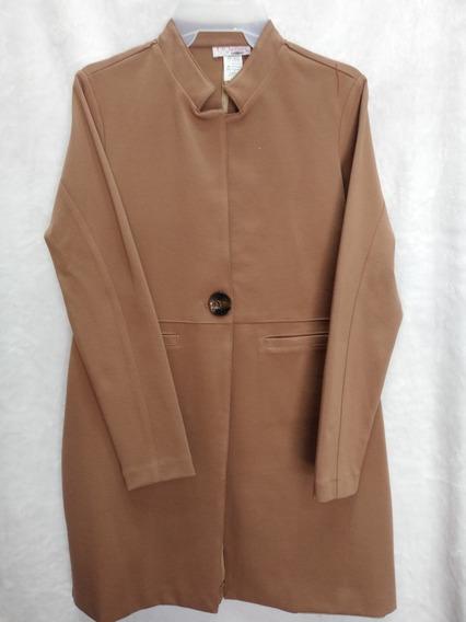 Abrigo Blazer Largo De Vestir Casual Juvenil Mujer Mayoreo