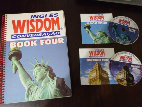Apostila Workbook Inglês Wisdom Conversação Book Four