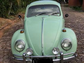 Volkswagen Fusca Placa Preta 68