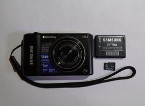 Câmera Digital Samsung 25m 5x Zoom Hd 16mp Live Panorama