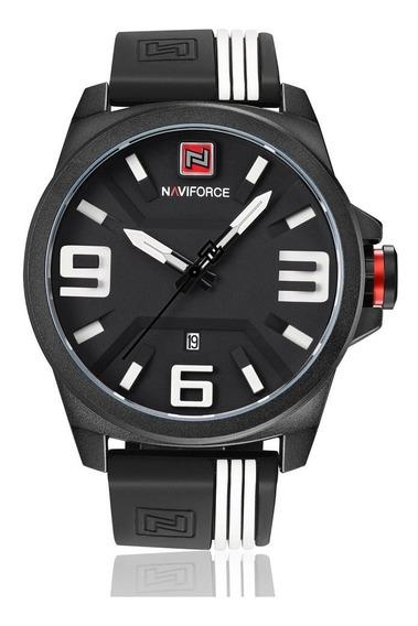 Relógio Naviforce Nf9098 Militar Analógico Original