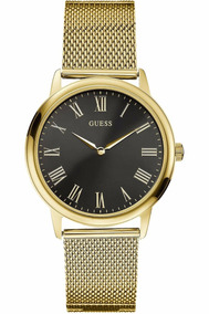 Relógio Guess Classic Gold W0406g6 Original Garantia E Nf !