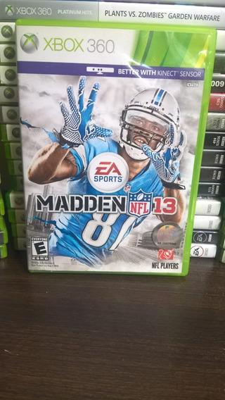 Madden Nfl 13 - Xbox 360 - Mídia Física Frete R$ 12