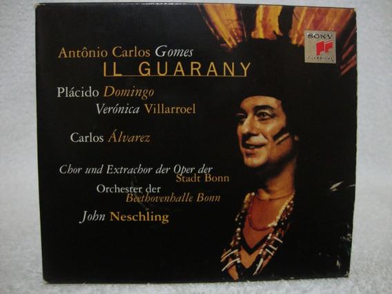 Box 2 Cds Placido Domingo- Il Guarany- Antônio Carlos Gomes