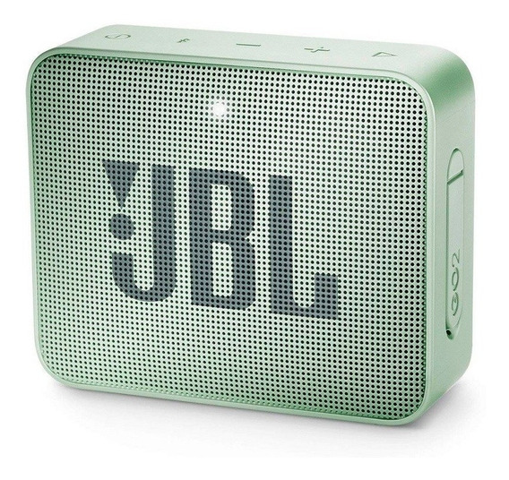 Caixa Som Jbl Go 2 Bluetooth 3watts Prova Água Verde Lacrada