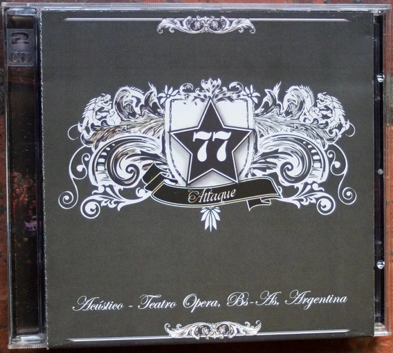 Attaque 77 Acústico Teatro Opera - Cd + Dvd