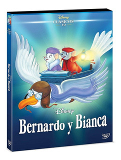 Película Bernardo Y Bianca Dvd Disney Niños Infantil
