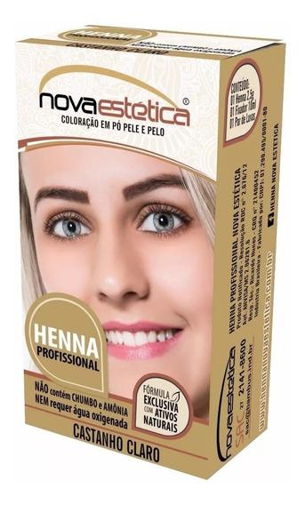 Kit Henna Para Sobrancelhas Nova Estética - Promoção!!
