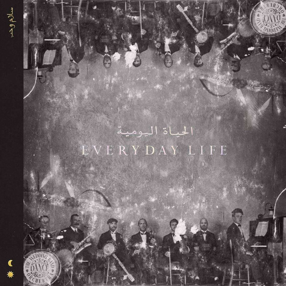 Coldplay Everyday Life Black 180g Usa Import Lp Vinilo X2